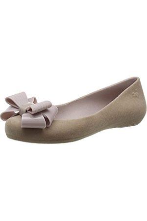 Zaxy Damen Pop Flock Bow Luxe Geschlossene Ballerinas