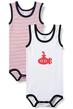Sanetta Baby-Jungen Body im Doppelpack Kleinkind Unterwäsche-Satz