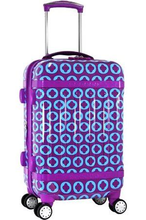 J WORLD NEW YORK Taqoo Handgepäck aus Polycarbonat (Violett) - JLH-2600