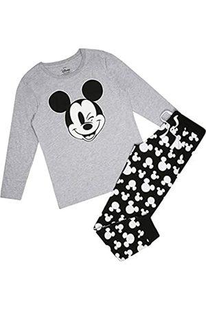Disney Damen Mickey Mouse Cheeky Wink Pyjama Set Pyjamaset