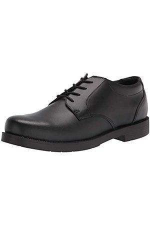 Academie Gear Mens Scholar School Uniform Shoe, Black