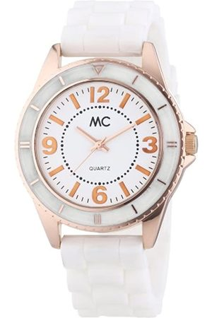MC Damen-Armbanduhr Analog Quarz Kunststoffband 50881