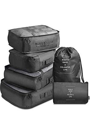 VAGREEZ Packwürfel, 7 Stück, leicht, Reisegepäck-Organizer