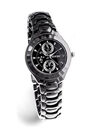 Sinobi Damen-Armbanduhr XS Analog Quarz Edelstahl beschichtet 3595N