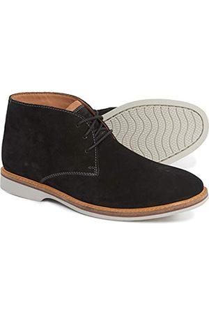 Clarks Men's Atticus Limit Chukka Boot, Black/White