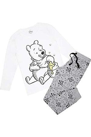 Disney Damen Winnie The Pooh Honey & Bees Pyjama Set Pyjamaset