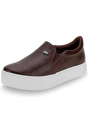 VIA MARTE Damen Slip on Sneaker Plateau Animal Print Comfort Gummisohle