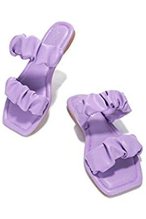 Cape Robbin JOMO Conflict Sandalen Slides für Damen, Pantoletten, Violett (Fliederfarben)