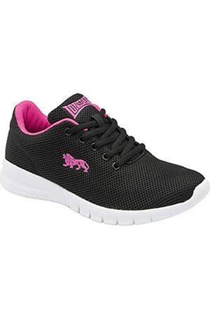 Lonsdale London Damen Bedford Road Running Shoe, Black/Pink