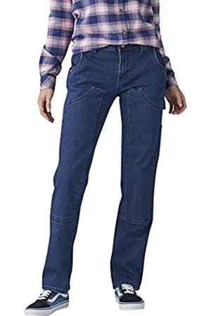 Dickies Damen Relaxed Straight Stretch Denim Double-Front Carpenter Pant Arbeitshose