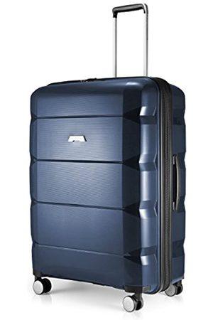 Hauptstadtkoffer Britz - Hartschalen-Koffer Koffer Trolley Rollkoffer Reisekoffer Erweiterbar, 4 Rollen, TSA, 75 cm