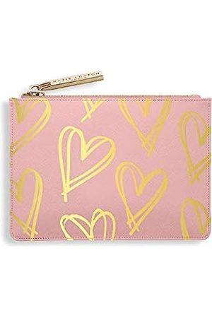 Katie Loxton Damen Geldbörse mit Reißverschluss, veganes Leder, Golddruck