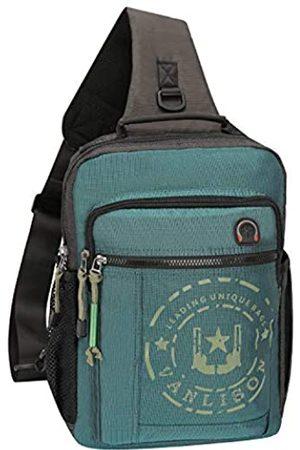 Vanlison Schultertasche, Laptop-Rucksack, Umhängetasche, Kuriertasche, Schulterrucksack, Reiserucksack, groß