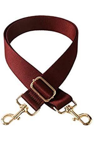 Reason Charm Verdickter, 3,8 cm breiter Schultergurt, Ersatzriemen, verstellbarer Gurt für Handtaschen, Geldbörse, Crossbody-Tasche., (Jujube )