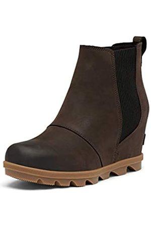 sorel Women's Joan of Arctic Wedge II Chelsea Boot - Light Rain - Waterproof - - Size 7