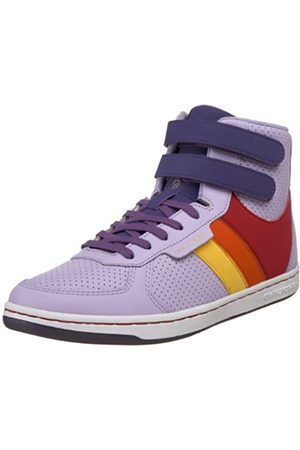 Creative Recreation Women's Dicoco Fashion Sneaker,Purple/Red/ /Yellow