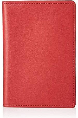 Royce Leather Reisepasshülle und Organizer für Reisedokumente aus Leder - 200-RED-5