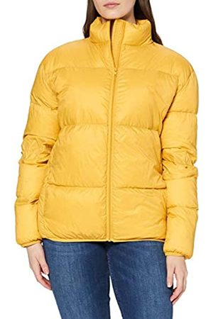 SPARKZ COPENHAGEN Sparkz Damen Jacke Pretty Puff Jacket, Yellow (Mustard 378)