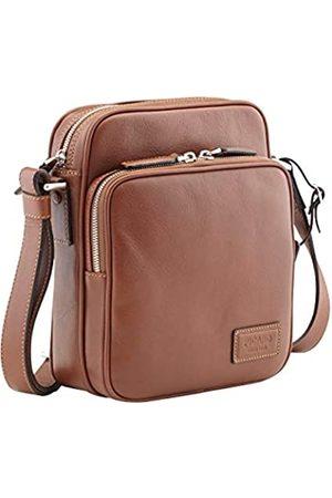 Picard Umhängetasche mit aufgesetztem Frontfach Authentic Leder 24 x 19 x 7 cm (H/B/T) Herren Handtaschen (4013)