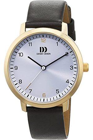 Danish Design Damen Analog Quarz Uhr mit Leder Armband 3320231