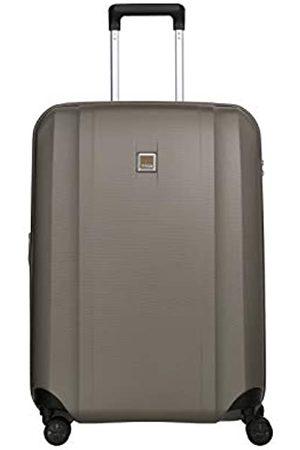 Titan 4-Rad Koffer mittlere Größe mit Dehnfalte + TSA Schloss, Gepäck Serie XENON: Kratzfeste Hartschalen Trolleys, 849405-40, 67 cm