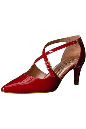 Walking Cradles Stella Damen Pumpe, (Red Patent Leather)