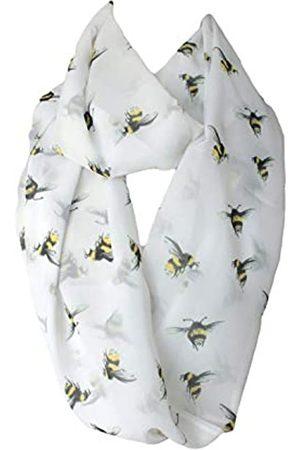 Etwoa Schal mit Bienen-Muster