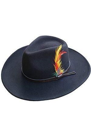 Different Touch Outback Westernhüte aus knautschbarer Wolle mit breiter Krempe - - XX-Large
