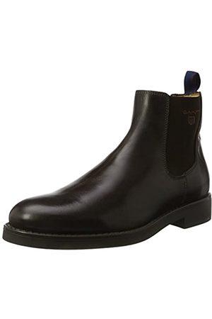 GANT Footwear Herren Oscar Chelsea Boots, (Dark Brown)