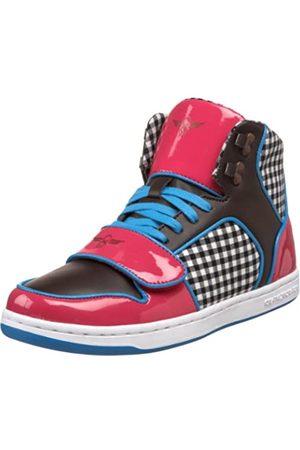 Creative Recreation Damen W Cesario Sneaker, Pink (Gingham)
