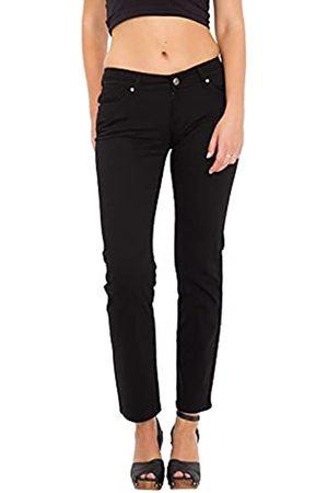 Way Of Glory Damen 5 Pocket Jeans »Britney« Regular Fit & Straight Leg Aus Baumwoll Twill Britney Casualmode 5 Pocket Jeans Regular Fit Unifarben Britney