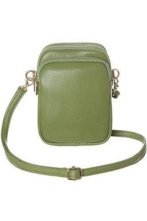 HAIDEXI Leichte kleine Umhängetasche, Handytasche, Reisetasche, Schultertasche für Damen, Gr�n (Lerther- )
