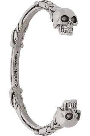 Alexander McQueen Herren Armbänder - Armspange mit Totenkopf