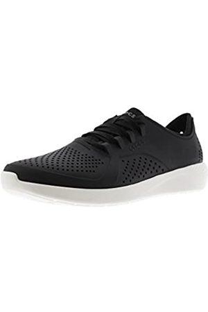 Crocs Herren Chaussure Hommes Oxfords, (Noire/Blanc 066)
