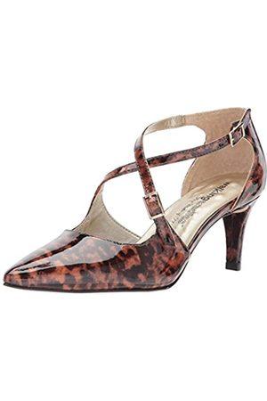 Walking Cradles Stella Damen Pumpe, (Leopard Patent Leather)