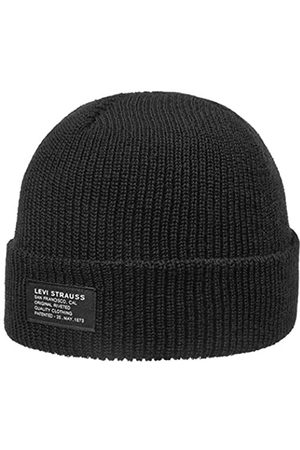 Levi's Unisex Cropped Beanie - NO Horse Pull Patch Ohrenschtzer