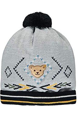 Steiff Jungen mit süßer Teddybärapplikation Mütze