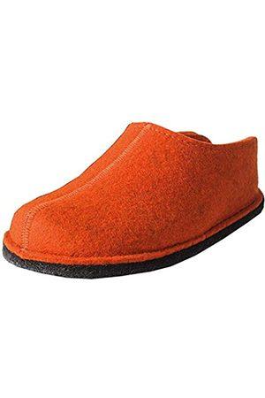 Haflinger Flair Smily, Pantoffeln, Unisex-Erwachsene, Filz aus reiner Wolle, (Rost 243)