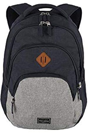Elite Models' Fashion Rucksack Handgepäck mit Laptop Fach 15,6 Zoll, Gepäck Serie BASICS Daypack Melange: Modischer Rucksack in Melange Optik, 096308-20, 45 cm