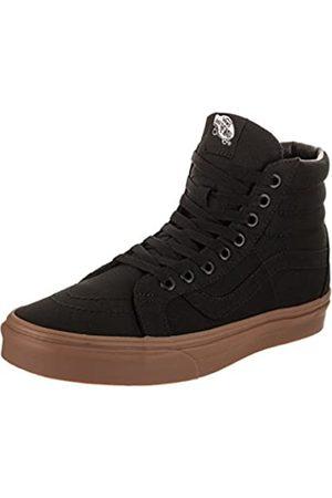 Vans Herren Schuhe - Unisex SK8-HI Shoes Canvas Gum Black/Light Gum Size M 9/W 10.5