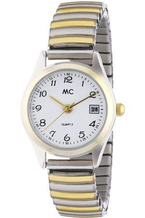 MC Damen-Armbanduhr Analog Quarz Flexband 14867