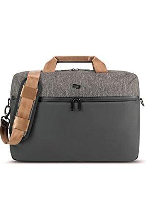 """Asolo Unisex-Erwachsene Frequency 15.6"""" Laptop Briefcase Blk Aktentasche"""