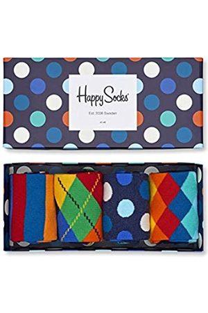 Happy Socks Damen Socken & Strümpfe - Gemischt farbenfrohe Geschenkbox an Baumwollsocken für Männer und Frauen,Mehrfarbig (Mix Gift Box)