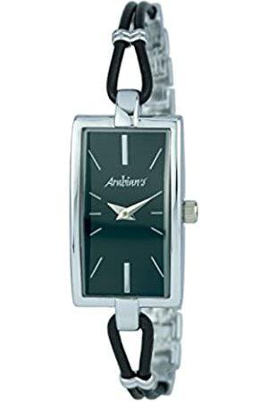 Arabians Damen Uhren - DamenAnalogQuarzUhrmitEdelstahlArmbandDBA2255N