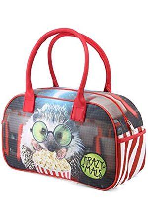 KARACTERMANIA Krazymals Hedgehog-Bowling Sporttasche Sporttasche, 40 cm