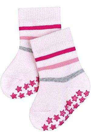 Falke Unisex Baby Catspads B HP Hausschuh-Socken Multi Stripe, Baumwolle, 1 Paar, 6-12 Monate (74-80cm)