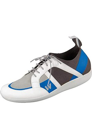 Wolky Damen Halbschuhe - Comfort Sneakers Base - 00286 anthrazit/konigsblau Kunststoff - 41