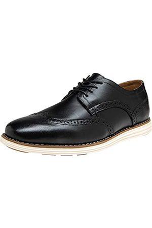 JOUSEN Herren Kleid Schuhe Leder Brogue Wingtip Oxford Schuhe Business Casual Schuhe für Männer, ( -606)