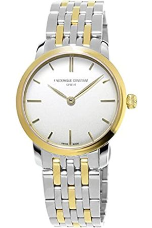 Frederique Constant Damen-Armbanduhr XS Analog Quarz Edelstahl FC-200S1S33B3