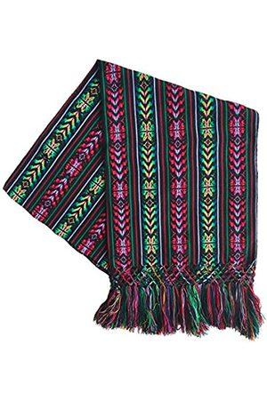 Alkimia Inc Mexikanischer handgefertigter farbenfroher Rebozo Schal - - Mittel